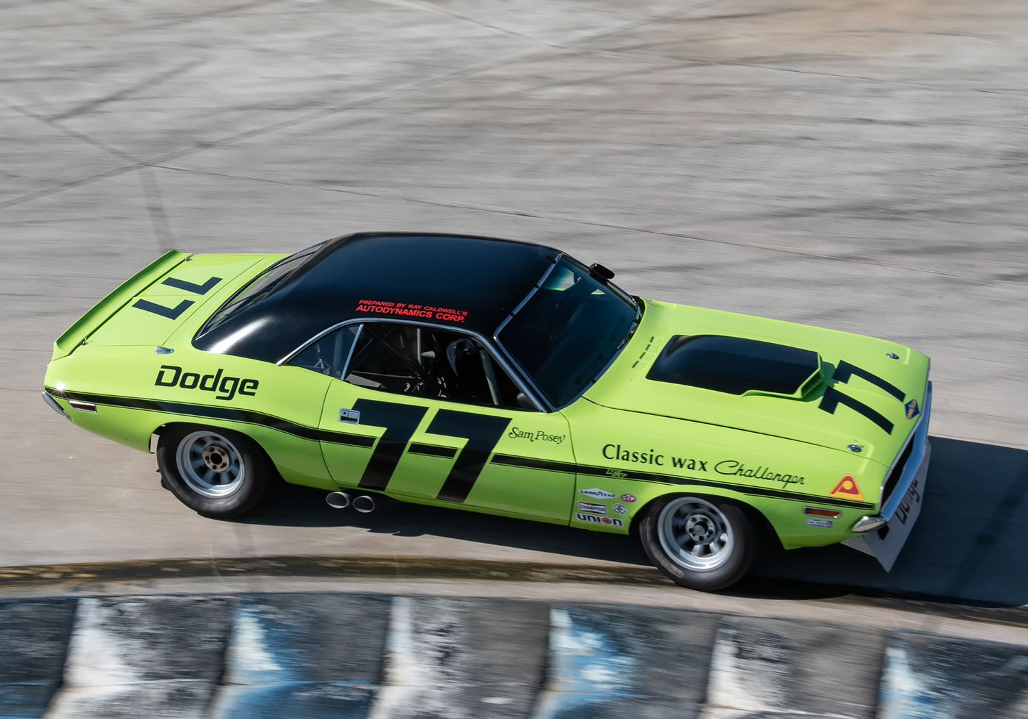 77 Richard Goldsmith 70 Dodge Challenger Chuck Andersen