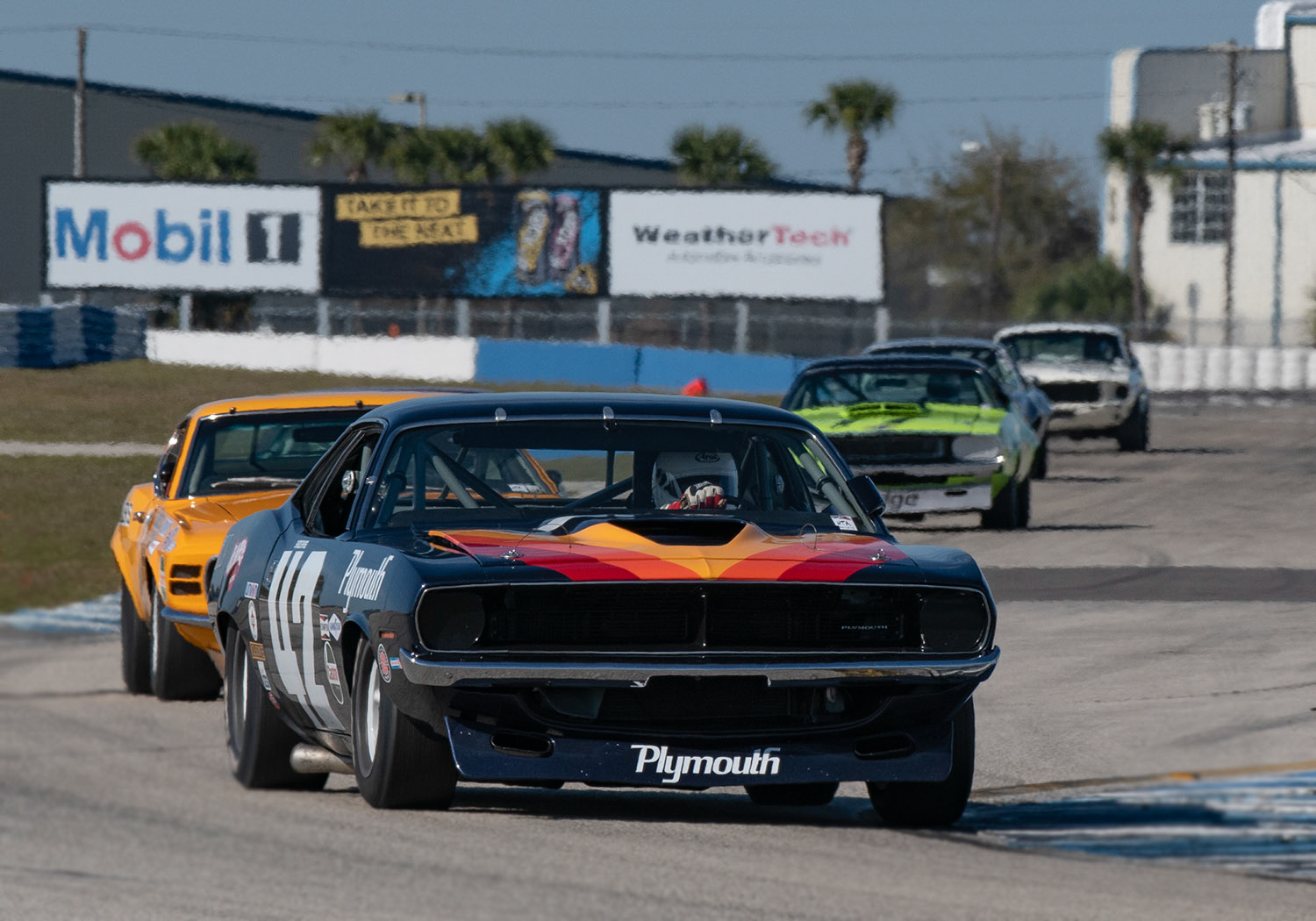 42 Bill Ockerlund 70 Plymouth Cuda