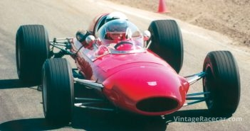 The wood construction Protos HCP-1 F2 car makes its race debut (1967).