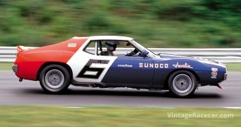 Jamey Mazzota in his 1971 AMC Javelin.Photo: Walt & Louiseann Pietrowicz