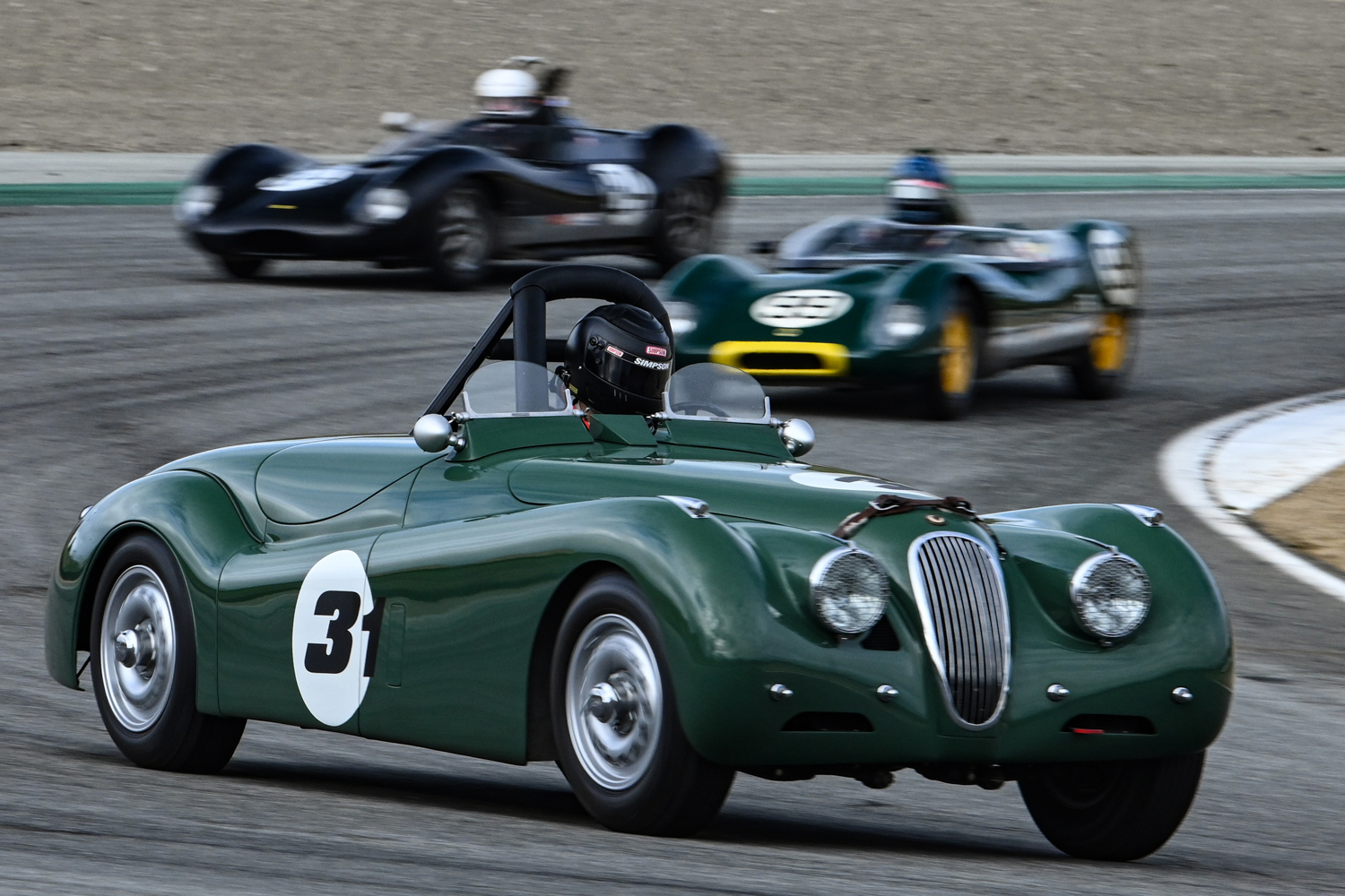 Bill Rooklidge - 1952 Jaguar XK120 DENNIS GRAY