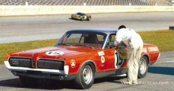 Ford announces creation of the Bud Moore Mercury Cougar Trans-Am team (1966).