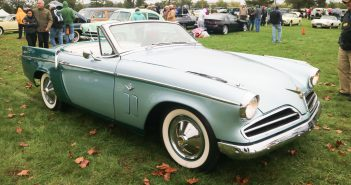 A car that Studebaker never built.  It was based on sketches by Studebaker designer Bob Bourke and built by the car's owners.