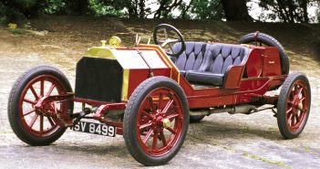 1910 LANCIA TIPO DA CORSA CHASSIS 307Photo: Peter Collins