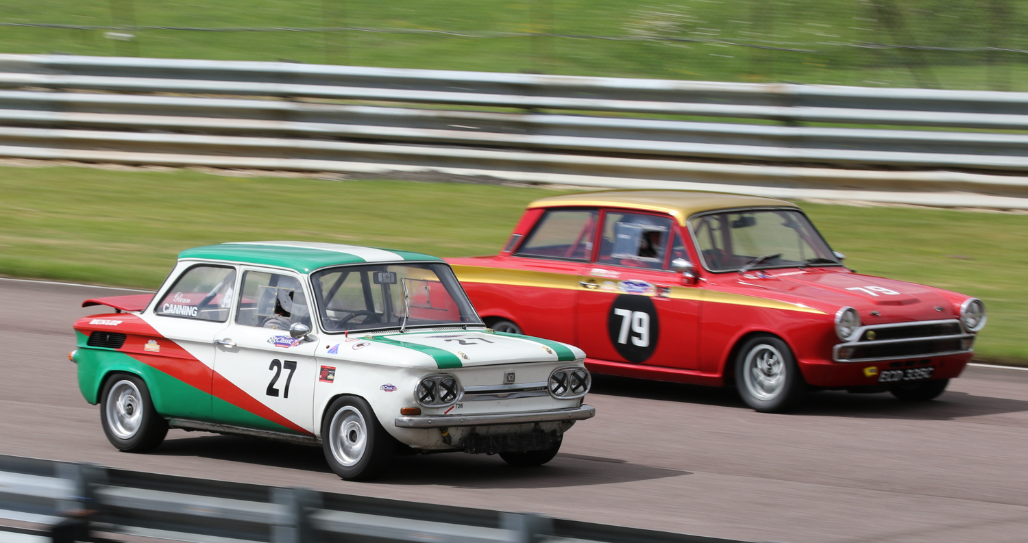 Common in Germany but rare in Britain, Glenn Canning's fast NSU TTS. Picasa