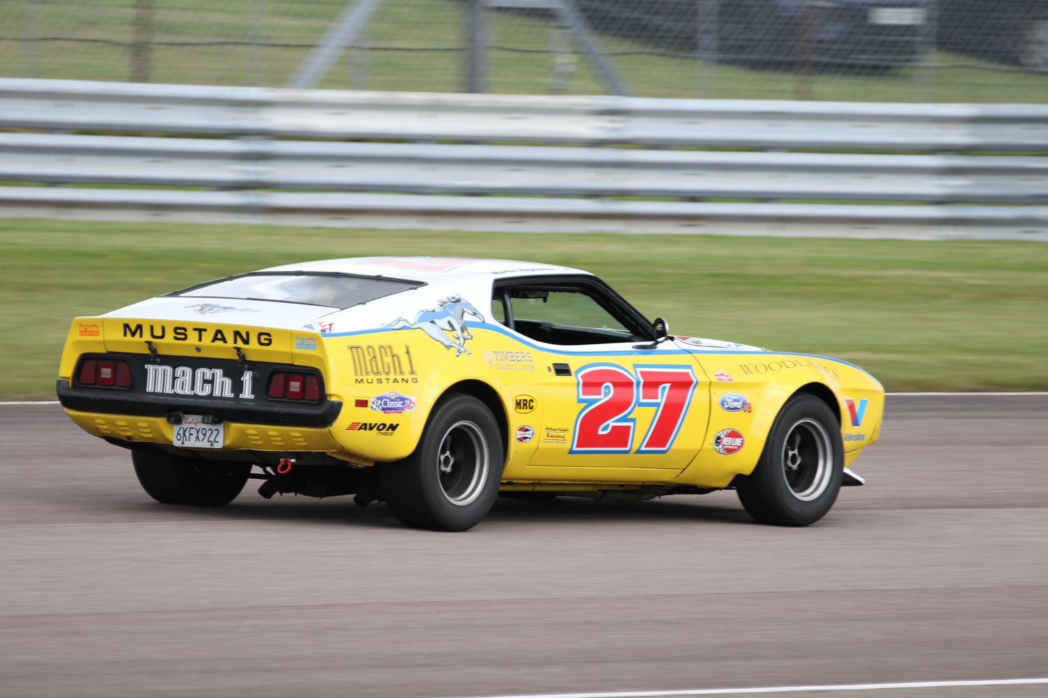 Martin Reynolds and his Ford Mustang Mach 1. Picasa