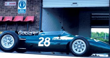 Vanwall VW14. Photo: Peter Collins