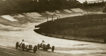 Last race event held at Brooklands, England (1939).