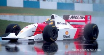 McLaren announces that it has signed Ayrton Senna away from Lotus (1987).