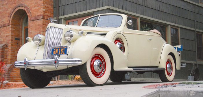 Classical Cars—1939 Packard 120 Convertible