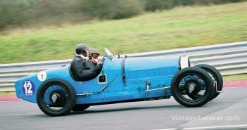 The Bugatti Type 37 of AndrŽ Dufilho.Photo: Thierry Lesparre