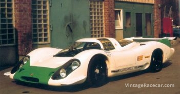 Porsche unveils the 917 Group 5 racer at the Geneva Auto Show (1969).