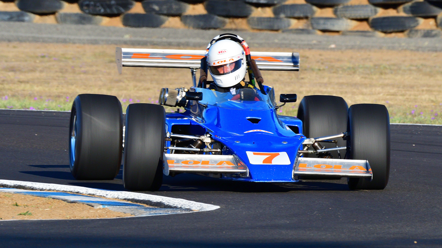 The Lola 340 of Ian Gray. Peter Buchanan Photo. PETER BUCHANAN    0417349937