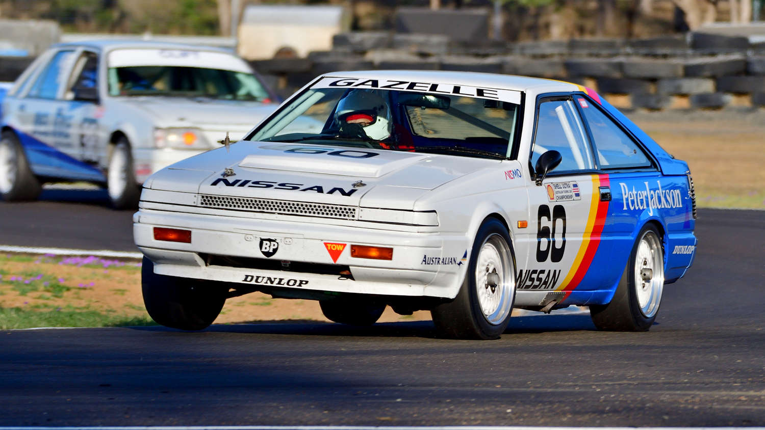 The Nissan Gazelle of Brian Henderson. Peter Buchanan Photo. PETER BUCHANAN    0417349937