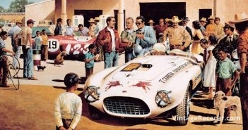 The last Carrera Panamericana is held (1954).
