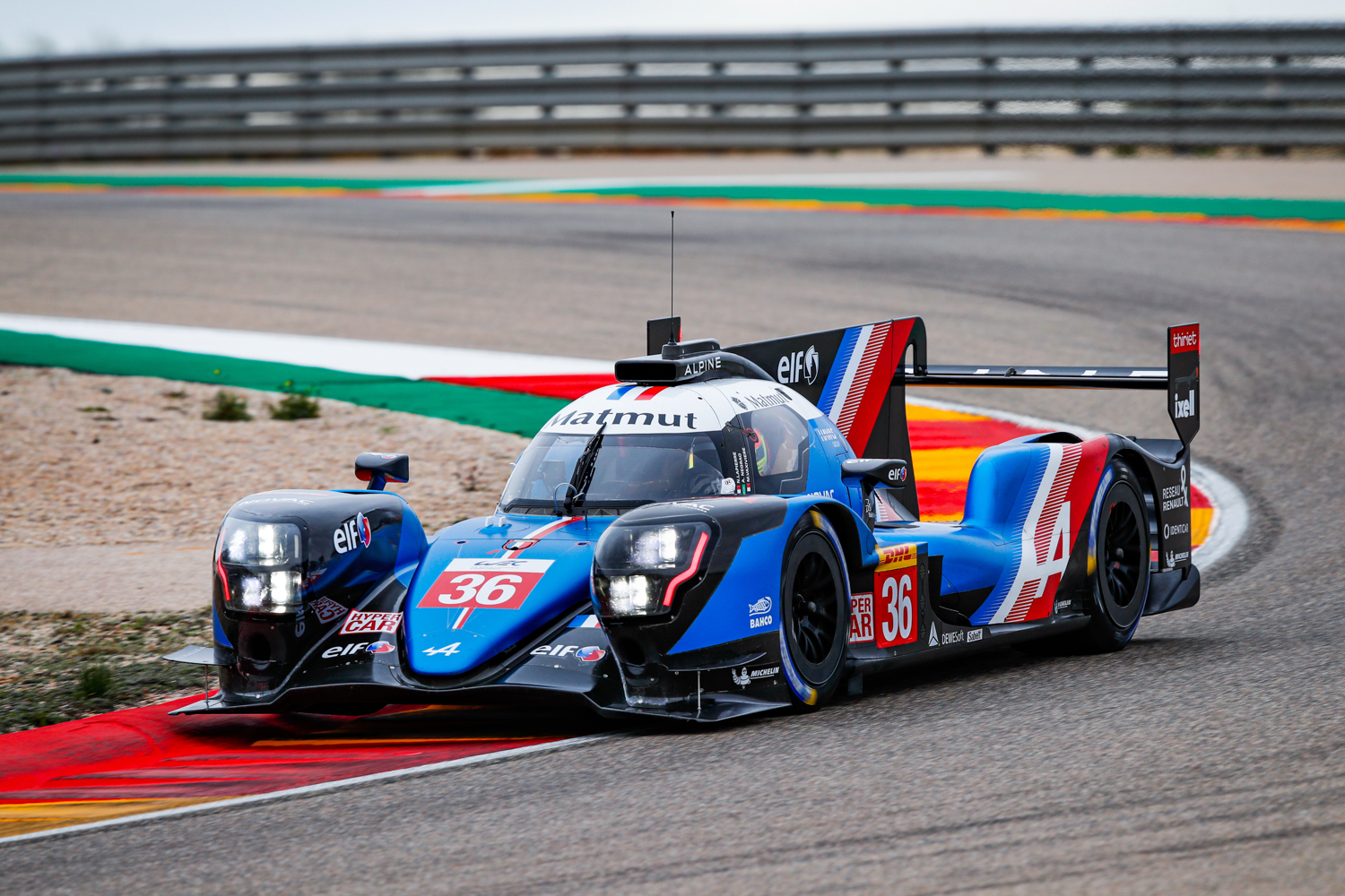 ALPINE A480 - TESTS SESSIONS ON THE MOTORLAND CIRCUIT Florent Gooden