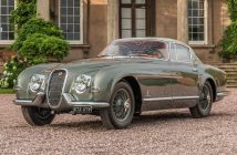 The Jaguar XK 120 Pininfarina coupe JUSTIN LEIGHTON