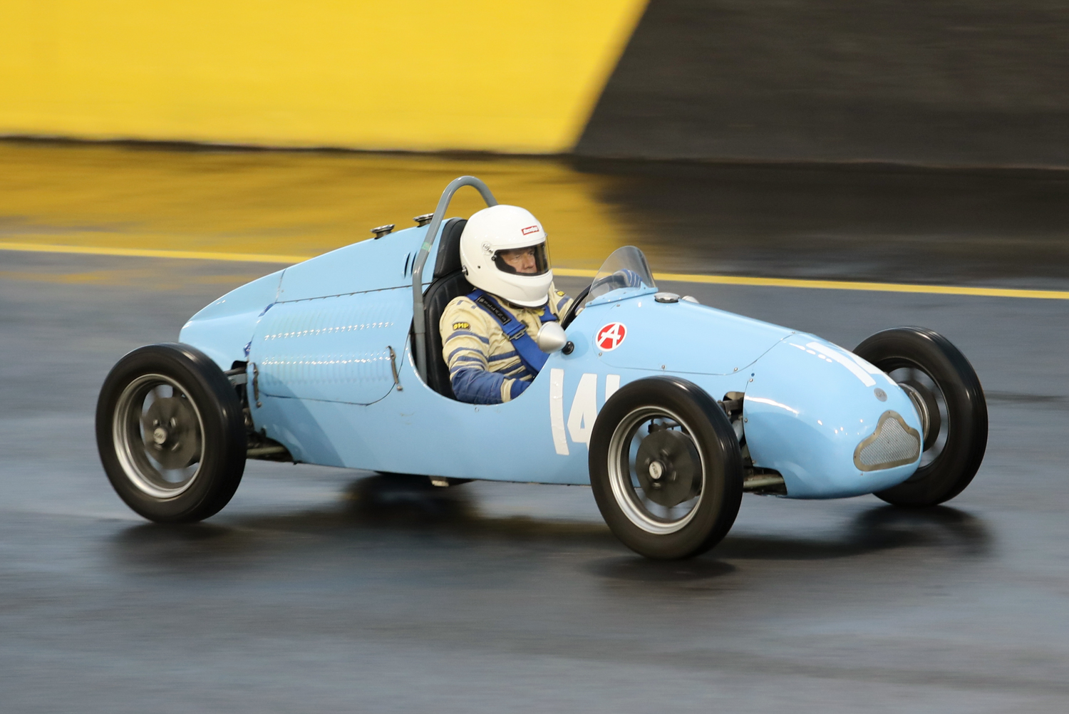 Garry Simkin in his 1950 Cooper Vincent. Steve Oom Photo. STEVE OOM PHOTOGRAPHY