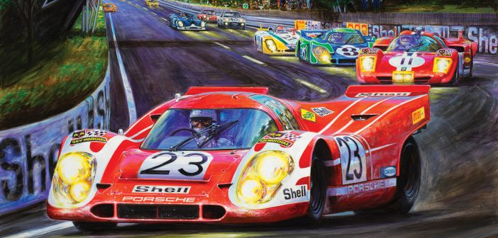 The 1970 Le Mans Race
