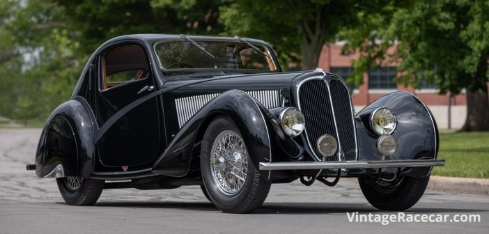 Unique Delahaye Competition Teardrop Coupe to Sell at Monterey
