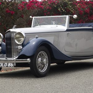 1934 Bentley 3.5-Liter Derby Drop Head Convertible