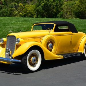 1935 Lincoln Model K V-12 Convertible Coupe