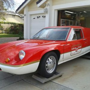 "LOTUS EUROPA ""STREET / TRACK "" PROJECT UTILIZING."