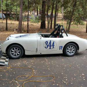 1959 Bugeye Sprite Vintage Race car- 1275cc eng & SC/CR gearbox