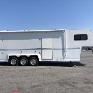 "Awesome 34"" TPD enclosed stacker trailer for sale"