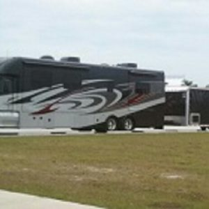 2008 Silver Crown Coach with 32' Dominator Trailer